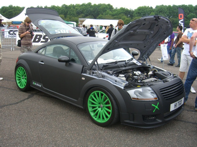 Audi TTS with JBS GT35 Turbo Kit - JBS