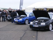 JBS Turbo Kits hold their own on the GTi International drag strip.