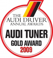 Custom-Code Wins Audi Driver Tuner of the Year Gold Award.