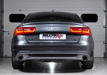 Reviews for Milltek Cat-back with Dual GT100 Tips (For Audi