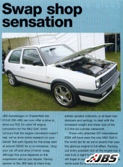 World 1st: VW Golf Mk2 R32 Engine Conversion
