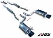 Milltek Cat-back - Non-Resonated with Dual Satin Black Tips Including Valves (For Audi RS4 (B7) 4.2 V8)
