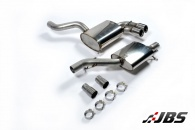 Milltek Cat-back - Resonated with Twin 80mm Jet Tips (For Audi S3 (8P) 2.0T)