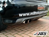 Milltek Turbo-back - Resonated with Sports CAT and Twin GT80 Tips (For Audi S3 (8P) 2.0T)
