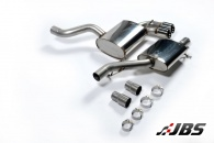Milltek Cat-back - Resonated with Twin 80mm Special Tips (For Audi S3 2.0 T Sportback)
