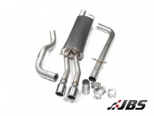 Milltek Cat-back - Non-Resonated with Twin Jet Tips (For VW Bora 1.9 TDI and 1.8 T 2WD)