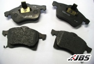 Performance Brake Pads: Rear: Strada