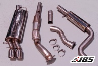 Milltek Turbo-back with Sports Cat and GT80 Tips (For Seat Leon/VW Golf 1.8T)