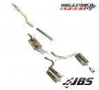 Milltek Cat-back - Resonated with Dual GT90 Tips (For Audi A4 (B6) 1.8T 2WD 6 Speed)