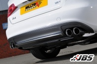 Milltek Cat-back with Dual-Twin GT80 Tips (For Audi A4 (B8) 1.8TFSI S-Line 160)