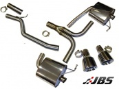 Milltek Cat-back with Dual GT100 Tips (For Audi A4 (B8) 3.0 TDI Quattro Saloon/Avant)