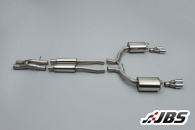 Milltek Cat-back - Resonated with Dual Twin Tips (For Audi RS4 (C6) 4.0 V10 Quattro)