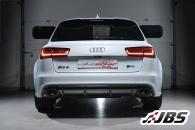 Milltek Full Exhaust - Resonated using OEM Trims (For Audi RS6 (C7)/RS7 4.0 TFSI)