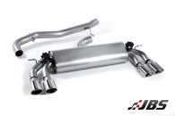 Milltek Cat-back - Non-Resonated with Quad Polished Oval Tips (For Audi S3 (8V) 2.0 T 3-Door)