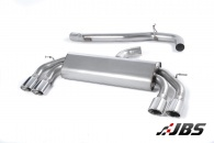 Non-Resonated, Non-Valved Cat-back with Quad Polished Oval Tips (For Audi S3 (8V) 2.0 T 3-Door)
