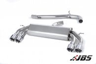 Milltek Cat-back - Non-Resonated Non-Valved with Quad Polished Round Tips (For Audi S3 (8V) 2.0 T 3-Door)
