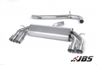 Milltek Cat-back - Non-Resonated Non-Valved with Quad Titanium Round Tips (For Audi S3 (8V) 2.0 T 3-Door)