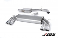 Milltek Cat-back - Resonated Non-Valved with Quad Polished Oval Tips (For Audi S3 (8V) 2.0 T 3-Door)
