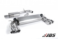 Milltek Cat-back - Resonated with Quad Polished Round Tips (For Audi S3 (8V) 2.0 T 3-Door)