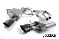 Milltek Cat-back - Non-Resonated with Dual Black Oval Tips (For Audi S4 (B8) 3.0 V6)