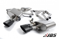 Milltek Cat-back - Valvesonic System with Dual Black Oval Tips (For Audi S4 (B8) 3.0 V6/S5 3.0 TFSI)