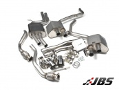 Milltek Cat-back - Valvesonic with Quad GT100 Polished Tips (For Audi S4/S5 (B8.5) 3.0 TFSI)