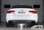 Milltek Cat-back - Race System with Dual Black Oval Tips (For Audi S5 3.0 TFSI S-tronic)