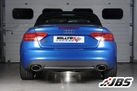 Milltek Cat-back - Race System with Dual Polished Oval Tips (For Audi S5 3.0 TFSI S-tronic)