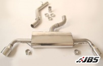 Milltek Cat-back - Non-Resonated with Dual 100mm Jet Tips (For Audi TT mk2 3.2 Quattro)