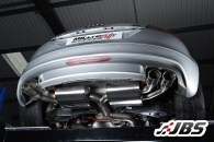 Milltek Resonated - Race-system with Sports CAT and Quad Polished Oval Tips (For Audi TTS Quattro)