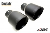 Milltek Cat-back - Resonated with Dual Black GT100 Tips (For Seat Leon(1P) Cupra R)