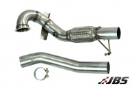 Milltek Large Bore Downpipe and De-CAT (For Seat Leon Cupra 280/VW Golf Mk7 GTI)