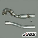 Milltek Large Bore Downpipe and De-CAT (For Skoda Octavia VRS 2.0 TFSI)