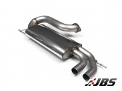 Milltek Turbo-back - Resonated with Twin Polished Tips (For VW Golf Mk5 GTI/ED30)