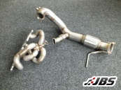 GT V Band Manifold and Downpipe for 1.8T 20v