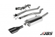 Milltek Turbo-back - with DPF Delete & Twin Black Tips (For VW Amarok 2.0BITDI 163 & 180)