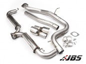 Milltek DPF-back with Dual Polished GT100 Tips (For Golf Mk6 GTD 2.0 170)