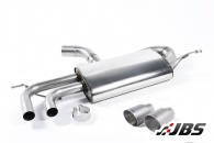 Milltek DPF-back with Twin Titanium GT80 Tips (For Audi A3, VW Golf/Scirocco 2.0 TDI 170 Models)