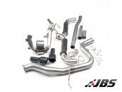 Milltek Turbo-back with DPF-Delete and Dual Black GT100 Tips (For Golf Mk6 GTD 2.0 170)