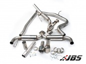 Milltek Turbo-back with DPF-Delete and Dual Polished GT100 Tips (For Golf Mk6 GTD 2.0 170)