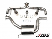 Milltek Cat-back - Non-Resonated Race system with Dual GT100 Tips (For VW Golf Mk6 GTI 210PS)