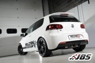 "3"" Race Cat-Back System with Dual GT100 Tips (VW Mk6 Golf R)"